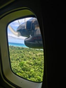 Soon landing to paradise