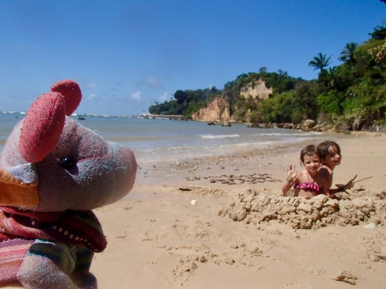 Hidden beach, Morro