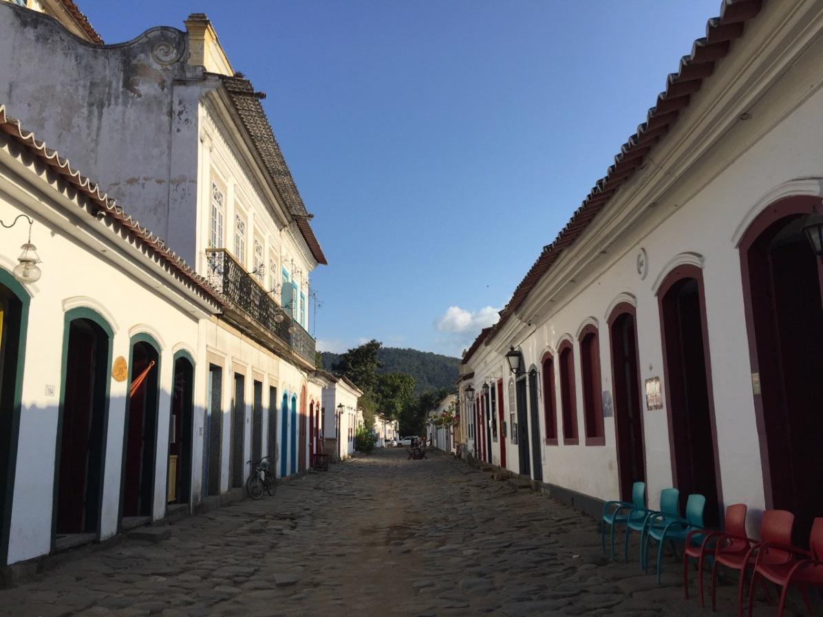 Ruelles de la ville coloniale