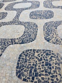 pavés typiques à Ipanema